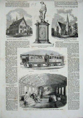 1859 Train Orleans Railway Imperial Saloon Lancashire