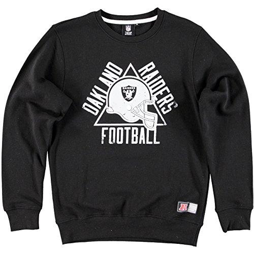 Majestic Oakland Raiders edify felpa girocollo Football NFL, S