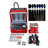 Autool Launch CNC-602A Fuel Injection System Cleaning Tools CNC602A Injector Cleaner and Tester with 110V Transformer