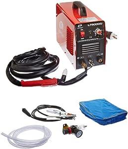 Lotos Dual Voltage (110/220VAC) 50 Amp Plasma Cutter without Pilot Arc LT5000D from Lotos