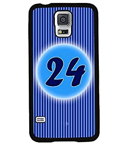 Fuson 2D Printed Numerology Designer back case cover for Samsung Galaxy S5 - D4244