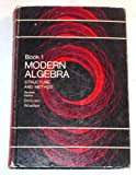 Modern Algebra Structure and Method Book 1 (0395142555) by Mary P. Dolciani