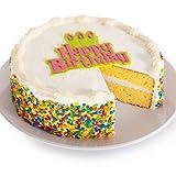 Vanilla Happy Birthday Cake