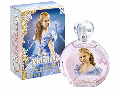 Disney 6359 Eau de Toilette, Cinderella, 100 ml, Blu