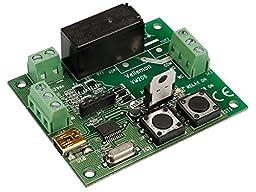 Velleman VM206 Universal Timer Module with USB Interface, 1 Grade to 12 Grade, 0.8\