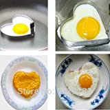 Heart Shape Egg Pancake Stainless Cook Fried Steel Mould