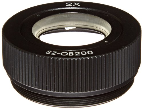 O.C. White Sz-Ob-200 Auxiliary Objective Lens For Prolite Microscopes, 2X Magnification
