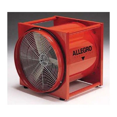 "Allegro Industries 16"" 2Hp High Output Axial Blower"