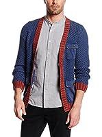 Tom Tailor Chaqueta Punto (Azul)