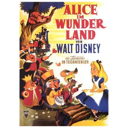 Pics Photos - Alice In Wonderland 1951 Poster Artwork