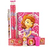 Disney Princess Sofia Stationery Set - Hot Pink
