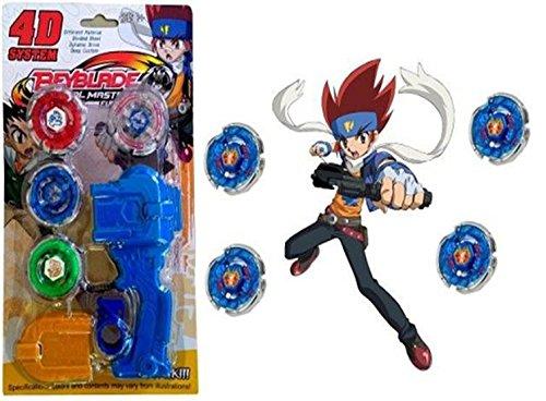 af9a3a61c Little Leaf 4D System Beyblade Set With Handle Launcher Metal Fighters (Multicolor)