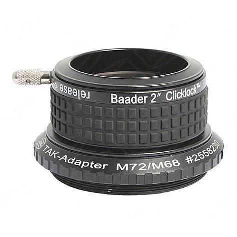 """Baader Planetarium 2"""" Clicklock Clamp For Takahashi (M72 Thread) Cltak-2"""