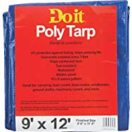 Do it Medium Duty Blue Poly Tarp-9X12 BLUE MED DUTY TARP