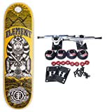 ELEMENT Complete Skateboard GENTELMENS BEARD MUSTACHE COALITION PHARAOH 8.25