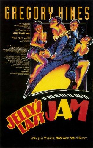 "Jelly Jam da ultimo (Broadway) 27,94 43,18 cm x (11""), 28 x 17 x 44 cm, motivo: Film Poster"
