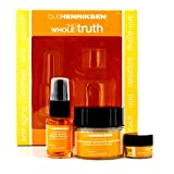 Ole Henriksen The Whole Truth Kit: Truth Creme Advanced Hydration 30ml + Truth Serum Collagen Booster 15ml + Total Truth Eye Creme SPF15 3g 3pcs