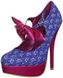 Iron Fist Women's Bow Me Platform Platforms Heels