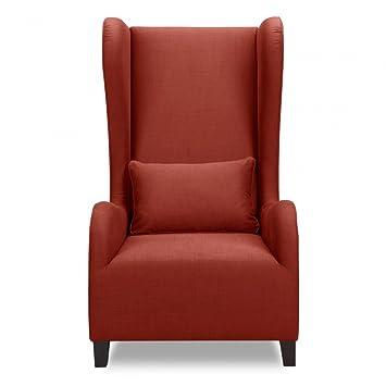 sessel rot designer loungesessel fernsehsessel dc665. Black Bedroom Furniture Sets. Home Design Ideas