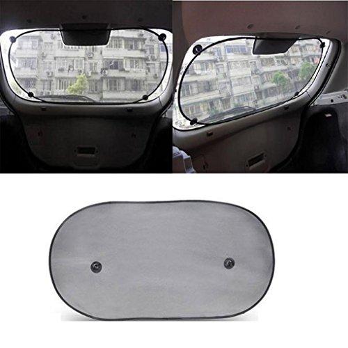 Iuhan® Fashion Tech Car Rear Window Sunshade Sun Shade Cover Visor Mesh Shield (Iron Man Sun Visor compare prices)