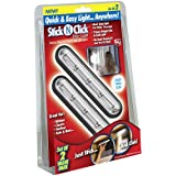 ontel products corp sncsl-mc12 2 Pack, Stick N Click Strip Light