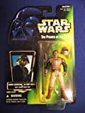 STAR WARS US POWER OF THE FORCE 2 GREEN CARD LANDO CALRISSIAN AS SKIFF GUARD WITH SKIFF GUARD FORCE PIKE