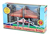 Melissa & Doug Skyline Suspension Bridge Children, Kids, Game, Child, Play