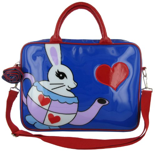 Irregular Choice Pot Bunny Laptop Bag 