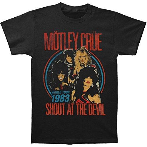 Motley Crue T-shirt Vintage Shout At Devil 30/1 0