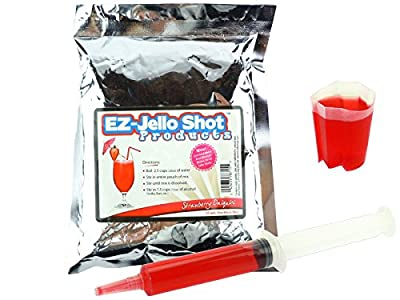 Strawberry Daiquiri EZ-Jello Shot Mix 6.78 oz
