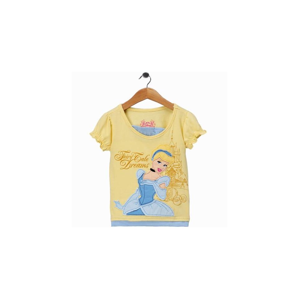 Disney Princess Cinderella Embroidered Homespun Shirt   Toddler (6)