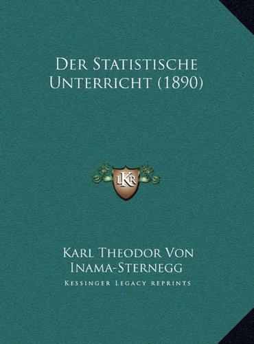 Der Statistische Unterricht (1890)