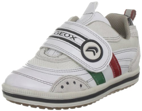 Geox Youth J Vita E White Casual Shoe J22A4E5411C1000 6 UK, 39 EU