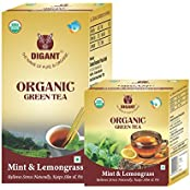 Mint & Lemongrass Organic Green Tea 25 Tea Bags