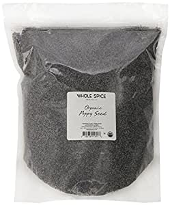 Whole Spice Poppy Seed Organic, 5 Pound