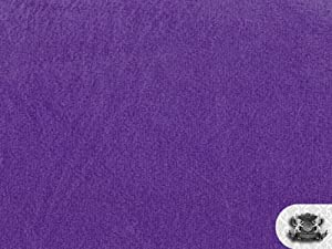 Minky Solid PURPLE Fabric By the Yard