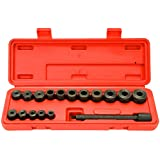 8milelake 17pc Universal Clutch Aligning Kit Flywheel Pilot Hole and Clutch Drive Plate Alignment Tool