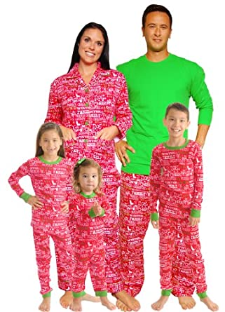 SleepytimePjs Christmas Family Matching Pajamas-6M