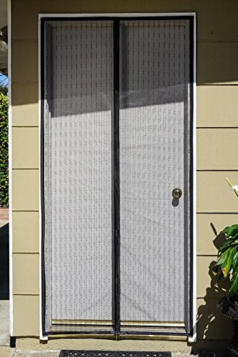 Magnetic screen door with eco friendly high quality for Roll out screen door