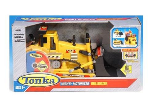 Tonka Mighty Motorized Bulldozer with Figure - Buy Tonka Mighty Motorized Bulldozer with Figure - Purchase Tonka Mighty Motorized Bulldozer with Figure (Funrise, Toys & Games,Categories,Play Vehicles,Construction & Farm Vehicles)