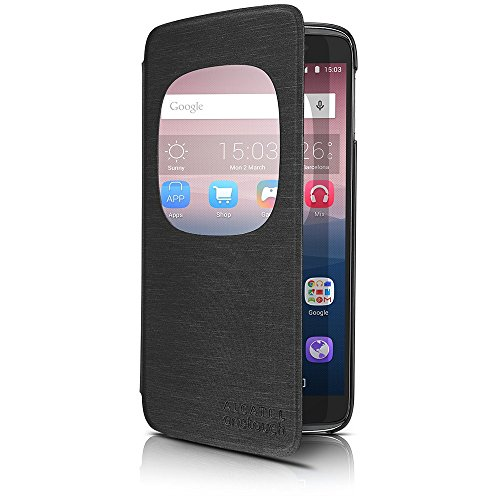 Alcatel Cell Phone Cradle for 4.7″ ALCATEL ONETOUCH IDOL 3 – Retail Packaging – Dark grey