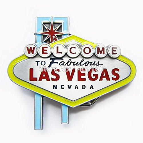 Men Belt Buckle (Las Vegas Sign) Gurtelschnalle Boucle de ceinture