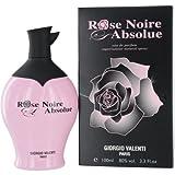 Rose Noire Absolue by Giorgio Valenti Eau De Parfum Spray for Women, 3.3 Ounce