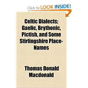 Celtic Dialects | RM.