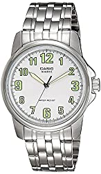 Casio Enticer Analog White Dial Mens Watch - MTP-1216A-7BDF (A357)