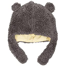 Magnificent Baby Unisex Fleece Winter Hat Lined Magnet Close Chin Strap 18-24 Gr