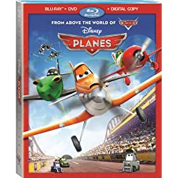 Planes (Blu-ray + DVD + Digital Copy)