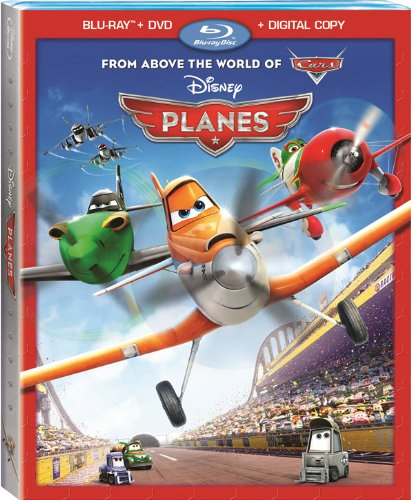 51eR5sCiGhL Planes (Blu ray + DVD + Digital Copy)