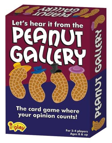 International Playthings iPlay Peanut Gallery Card Game - 1