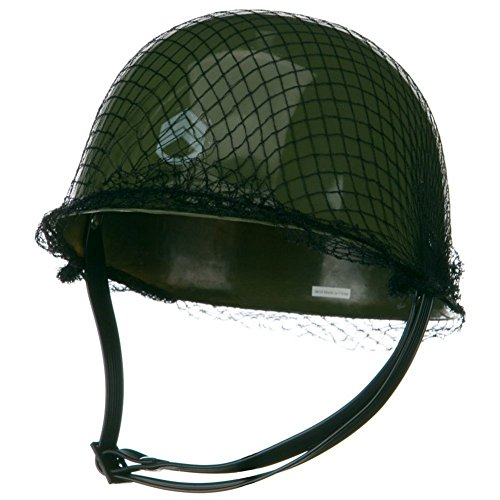 Childrens Green Army Helmet Costume Accessory